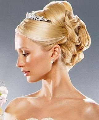 Wedding Hair Updos with Tiara