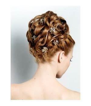 Modele flokesh per nuse – Hair Styling for brides (Pjesa 1)