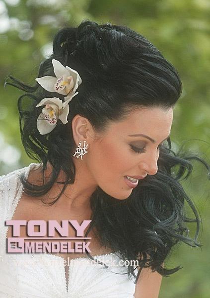 Modele flokësh nusesh – Hair Styling for brides (Pjesa 3)