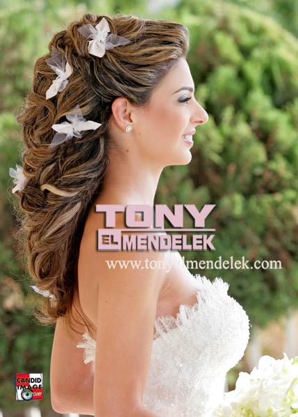 Modele flokësh për nuset – Hair Styling for brides (Tony Mendelek)