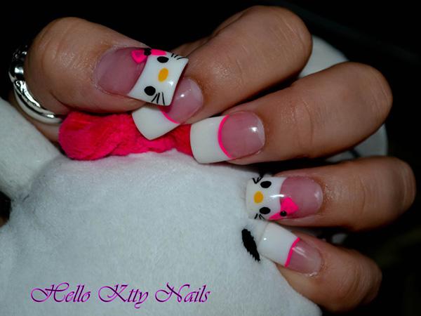 cute-hello-kitty-nails