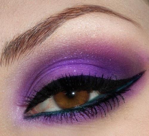 brown-eyes-purple-eyemakeup